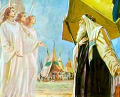 God Visits Abraham Genesis 18 Commentary The Book