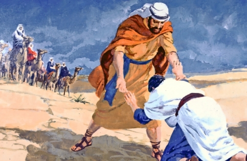 Image result for esau and jacob reconcile
